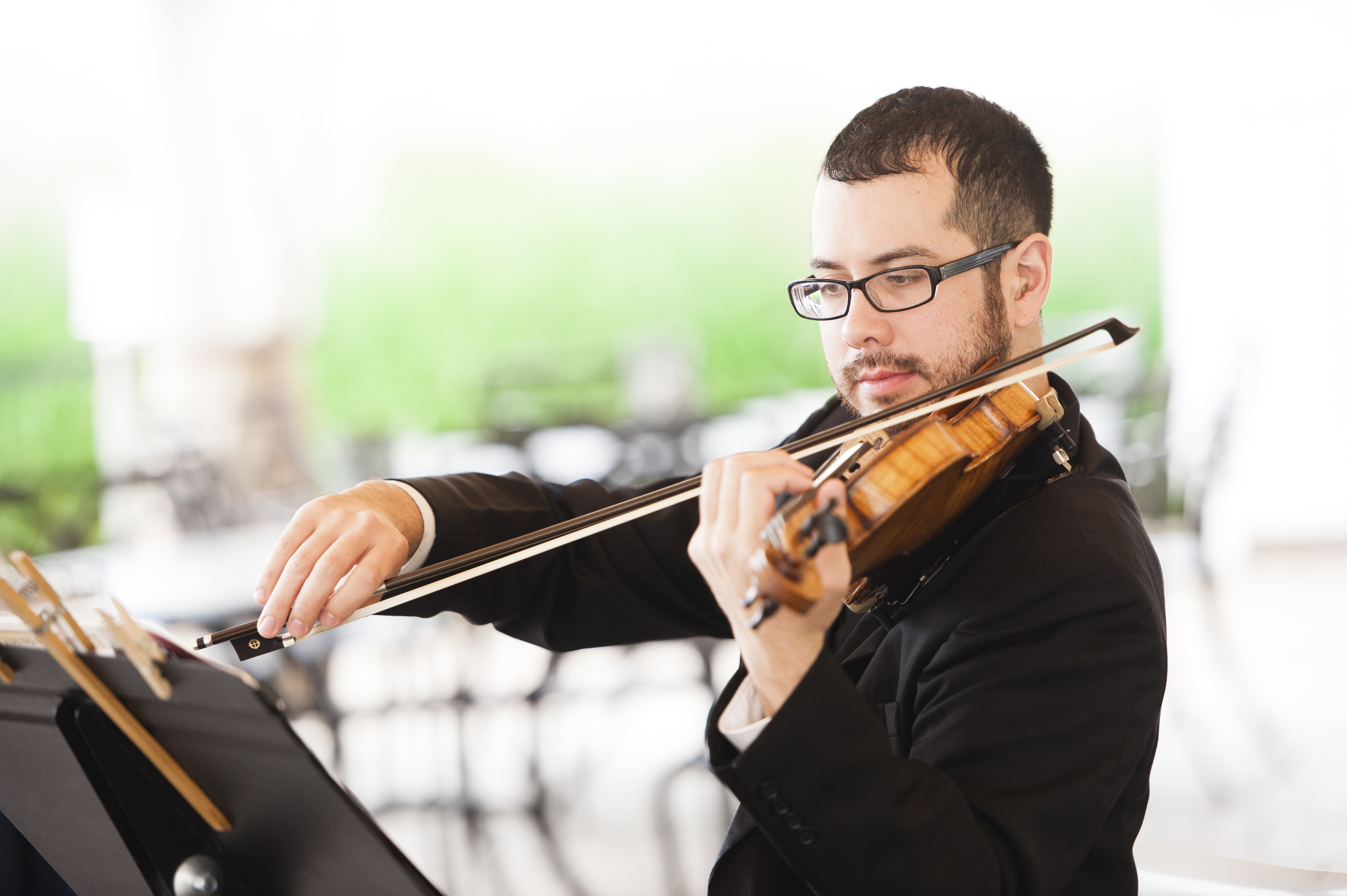 atmosphere productions now has the ability to provide live string musicians to compliment your wedding ceremony cocktail hour or dinner music needs
