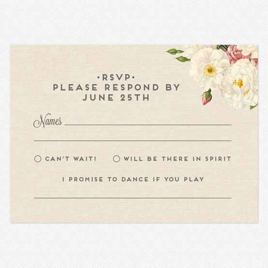 Song Requests On Your RSVP